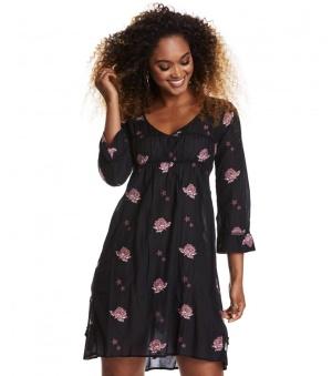 Refrain Dress - Refrain dress almost black 1