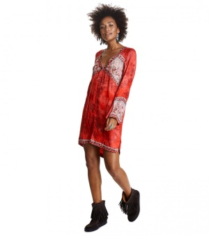 Turned on Tunic - Turned on tunic red 1