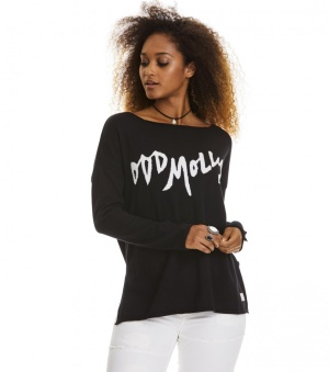 Hey Baby Pullover - Hey baby pullover black 1