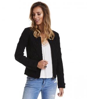 Harmony Knitted Jacket - Harmony knitted jacket black 1