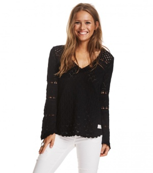 Love Affair Sweater - Love affair sweater black 1