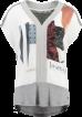 T Shirt Garcia - T shirt garcia vit/grå XL