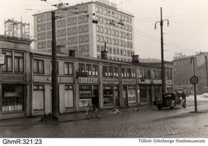 Bazaren på Järntorget, bilden tillhör Göteborgs Stadsmuseum