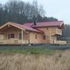 Fritidshus 120 m² med övervåning (kundanpassas så be om offert!) - Totalpris för stugan som på bilden med röda taket isolerad och monterad på färdig grund