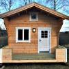 Fritidshus Attefallshus 25 m² + Loft - Isolerad