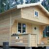 Loftstuga 15 m² - Isolerad