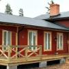 Fritidshus 120 m² med övervåning (kundanpassas så be om offert!) - Totalpris för stugan som är rödmålad på bilderna isolerad och monterad på färdig grund