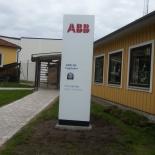 Skyltpelare ABB