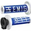 EMIG Lock on grepp - Fyrtakt Blå/vit