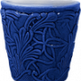 Mateus- Lace Mug 30cl - Mateus lace mug 30 cl blue