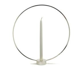 KLONG- Gloria Candlestick-silver - Glora silver small