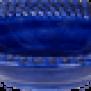 Mateus- Bubble Soup plate 25 cm - mateus bubble soup plate 25cm blue