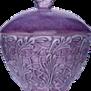 Mteus- Lace Bowl with lid 60 cl - mateus bowl lid 60 purple