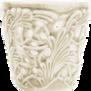 Mateus- Lace Candle holder 7 cm - mateus lace candle holder 7cm  sand