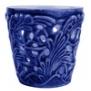 Mateus- Lace Candle holder 7 cm - mateus lace candle holder 7cm  blue