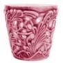 Mateus- Lace Candle holder 7 cm - mateus lace candle holder 7cm pink
