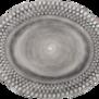 Mateus-Bubble oval platter 35cm - mateus bubble oval platter 35 cm grey