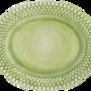 Mateus-Bubble oval platter 35cm - mateus bubble oval platter 35 cm green