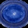 Mateus-Bubble oval platter 35cm - mateus bubble oval platter 35 cm Blue