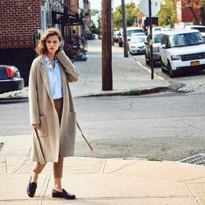 Lexington Carin Boiled Wool Coat - Lexingt Carin Boiled Wool Coat beige