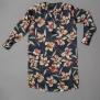 Cashe Design- Flower dress marinblå - Cashe Design flower dress marinblå xl