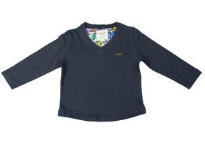 Petite Cashe-T-shirt v-neck - T-shirt V-neck 68/74
