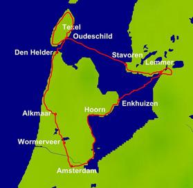 Cykel & Båt Norra Holland