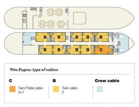Däckplan M/S Vita Pugna (klicka för större bild)
