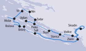 Kroatiska övärlden Nord (klicka för större bild)