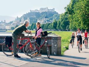 Nedanför Salzburg
