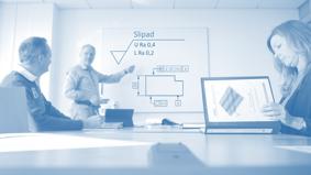 Vi utbildar och säkerställer att ert företag har den senaste kunskapen inom området geometriska produktspecifkationer (ISO GPS), mätteknik,  ytstruktur och form och lägetoleranser