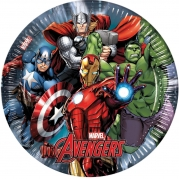 Papperstallrikar Avengers 23cm 8p 39kr