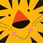Servett Tiger / Djur 16p 19kr