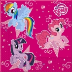 Servett My little pony 20p 39kr