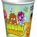 Pappmugg Moshi monsters 8st 15kr