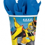 Pappmugg Transformers 8st 37kr