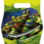 Kalaspåsar Turtles 6p 20kr