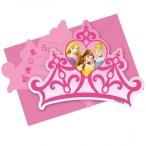 Inbjudningar Disney prinsessor kronor 6p 49kr