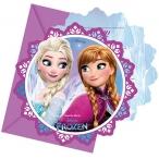 Inbjudningar Frozen 6p 49kr