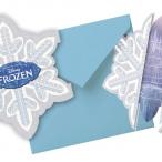 Inbjudningar Frozen flinga 6p 49kr