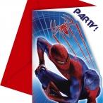 Inbjudningar Spiderman 6p 49kr