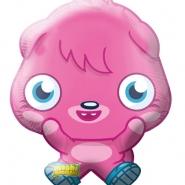 Folieballong Supershape Moshi Monsters 53x64cm  79kr