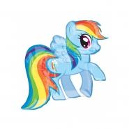 Folieballong Supershape My little Pony 61x78cm 85kr