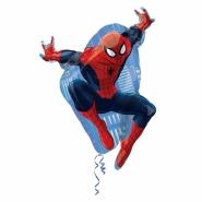 Folieballong Supershape Spiderman 43x73cm 85kr