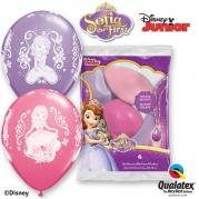 Ballonger Prinsessan Sofia 30,48cm 6st 38kr