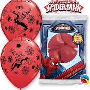 Ballonger Spiderman 30,48cm 6st 38kr