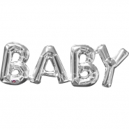 Baby silver airfill 22x66cm 49kr