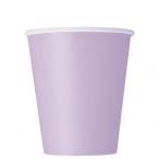 Pappersmuggar 266ml 8p Lavender 16kr