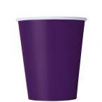Pappersmuggar 266ml 8p Deep purple 16kr