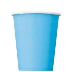 Pappersmuggar 266ml 8p Powder blue 16kr
